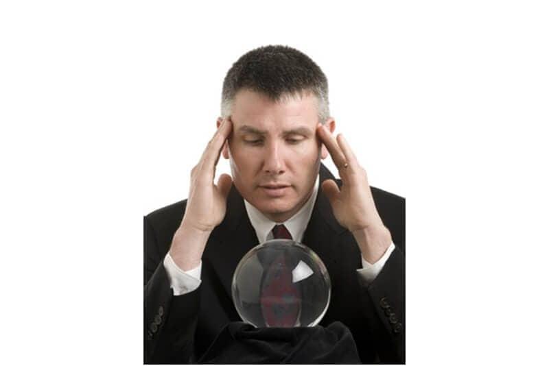psychic business man