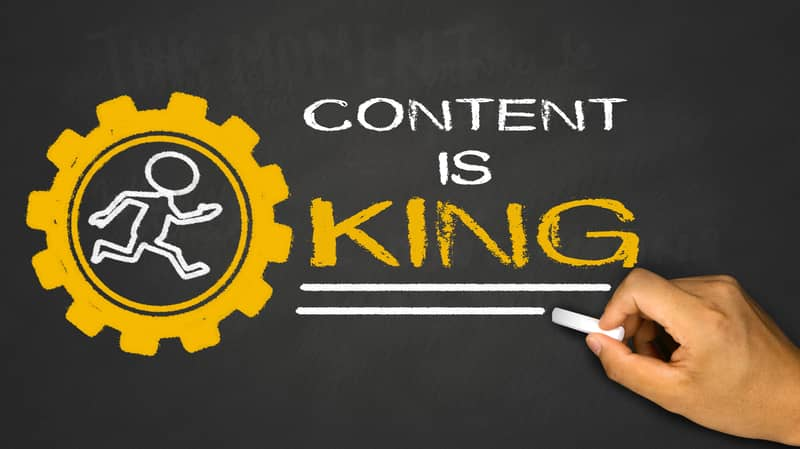 Is Content King? - CAYK Marketing - Digital Marketing Agency - Featured Image